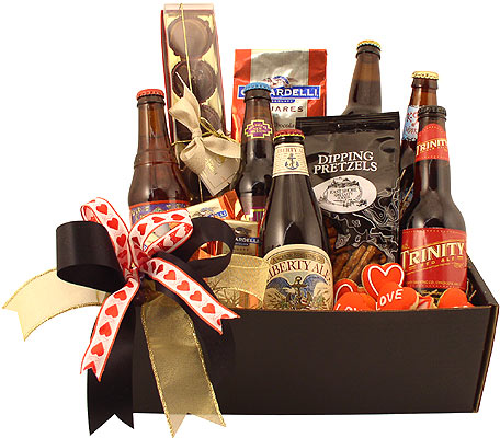 For the Love of Beer Gift Basket from Simply Classic Gourmet Gift Baskets