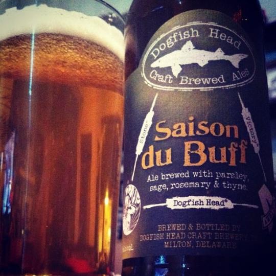 saison du BUFF - dogfish head