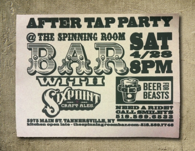 Sixpoint after party @ the Spinning Room Bar