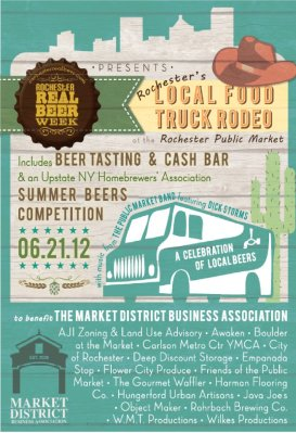 food truck rodeo - rochester public market
