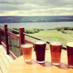 Two Goats Brewing on Seneca Lake