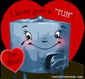i love you a tun valentine