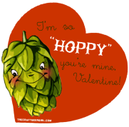 so hoppy you're mine valentine