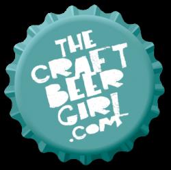 craft beer girl bottle cap logo