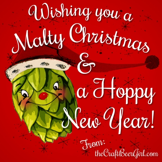 Malty Christmas and Hoppy New Year