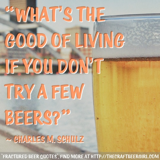 """Fractured Beer Quotes"", Find more at http://thecraftbeergirl.com"